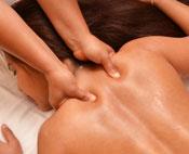 Nacken-Rückenmassage